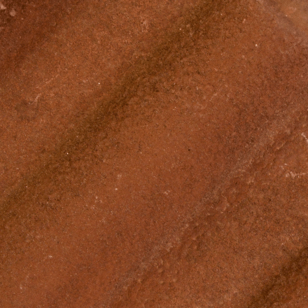 A powder, oxidised and unstable tile surface